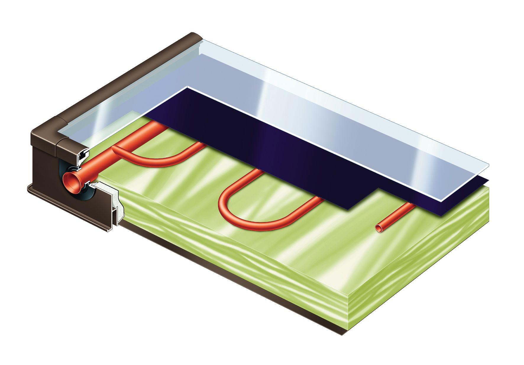Как собрать солнечный коллектор для отопления своими руками