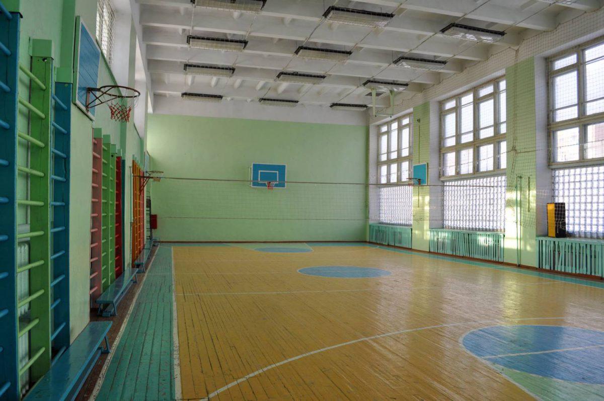 Отопление классов, спортзалов