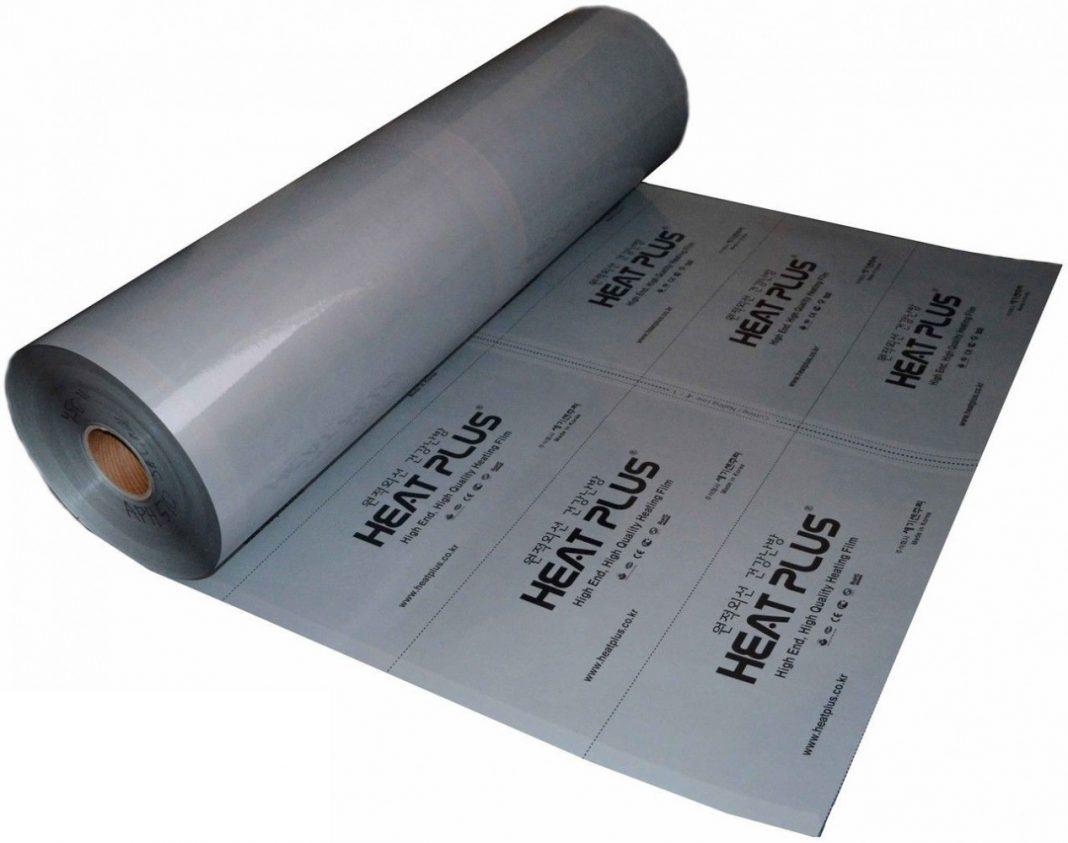 Инфракрасная пленка Heat Plus Premium APN-410-180 Silver