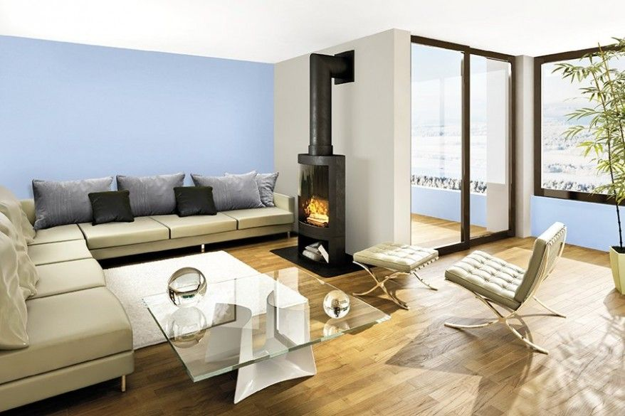 Отопление комнаты камином