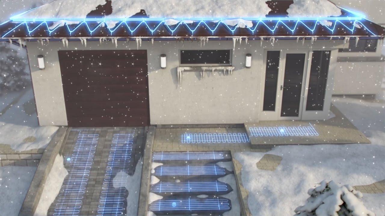 Система снеготаяния в частном доме