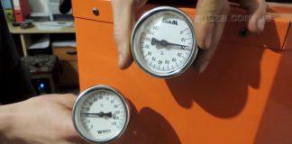 Термометр для твердотопливного котла